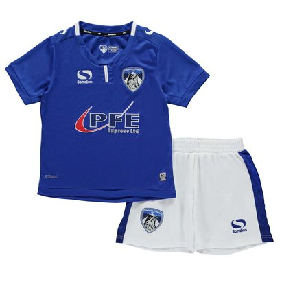 Sondico Oldham Athletic Home Kit 2017 2018 Mini