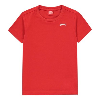 Slazenger Plain T Shirt Junior Boys