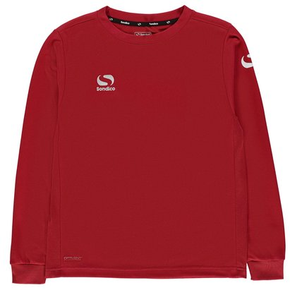 Sondico Classic Long Sleeve T Shirt Junior Boys