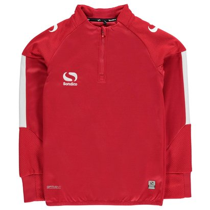 Sondico Evo Quarter Zip Track Top Junior Boys