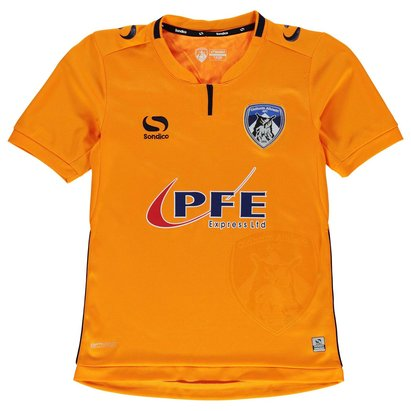 Sondico Oldham Athletic Away Shirt 2017 2018 Junior