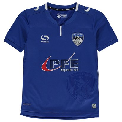 Sondico Oldham Athletic Home Shirt 2017 2018 Junior