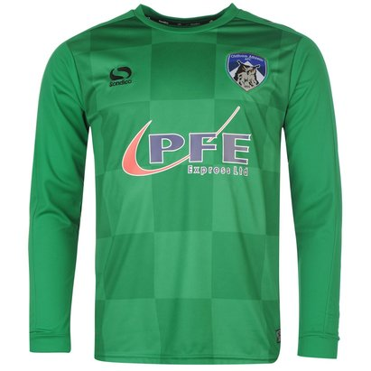 Sondico Oldham Athletic Home Goalkeeper Shirt 2016 2017 Mens