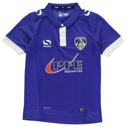 Sondico Oldham Athletic Home Shirt 2016 2017 Junior