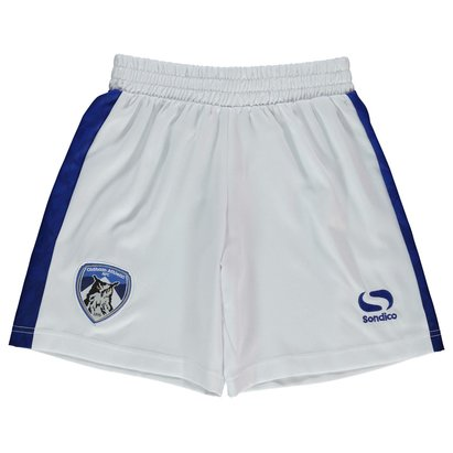 Sondico Oldham Athletic Home Shorts 2017 2018 Junior