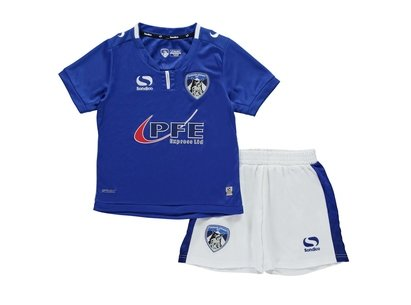Sondico Oldham Athletic Home Kit 2017 2018 Baby