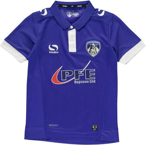 Oldham Athletic Home Shirt 2016 2017 Junior
